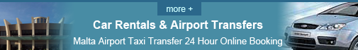 Malta Airport Taxi Transfer 24 Hour Online Booking